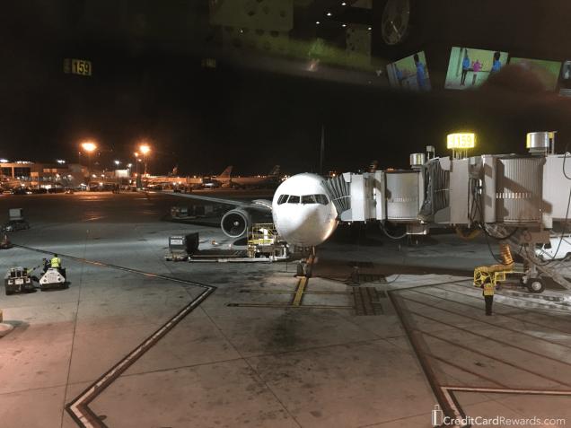 LATAM 767-300 at LAX