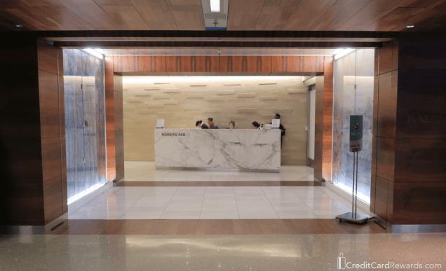 SkyTeam Korean Air Lounge at LAX