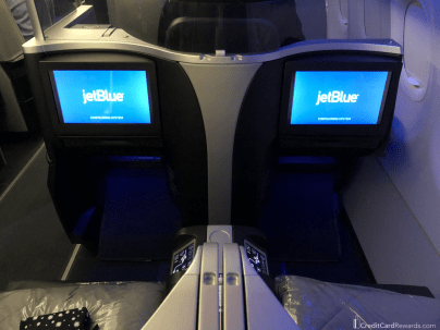 JetBlue Mint Seats 3D and 3F