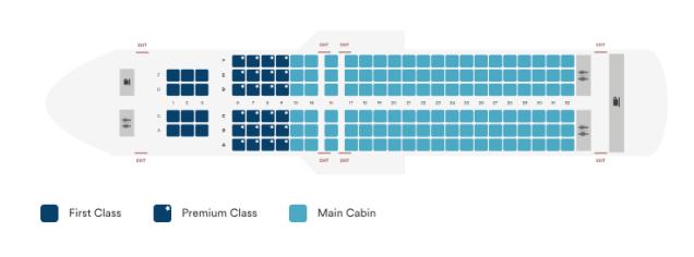 alaska airlines a320 seat map post-retrofit