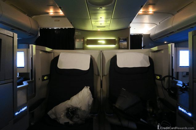 British Airways Business Class Middle Seats