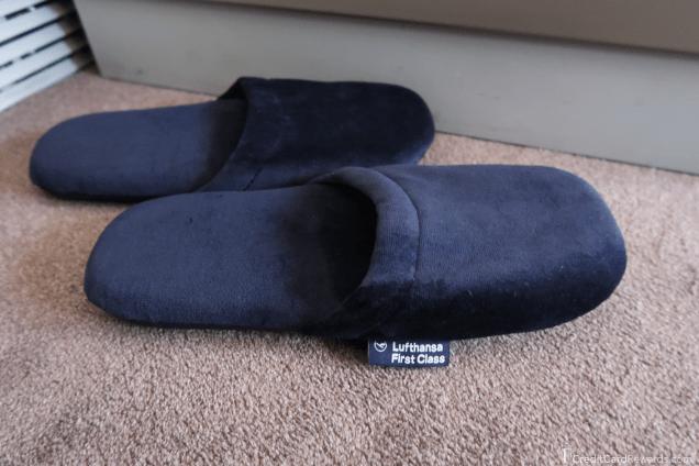 Lufthansa First Class Slippers