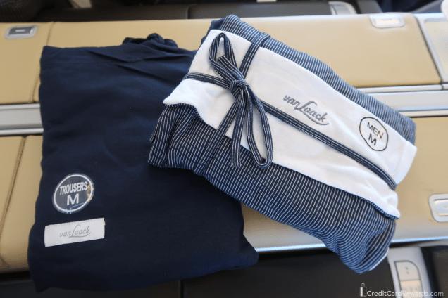 Lufthansa First Class Pajamas