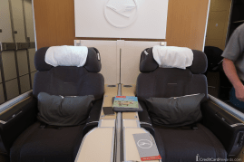Lufthansa First Class Seats 2D and 2G