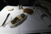 Lufthansa First Class Mezze Snack