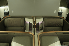 Singapore Airlines Business Class Middle Seats