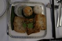 Singapore Airlines Business Class Dim Sum Breakfast