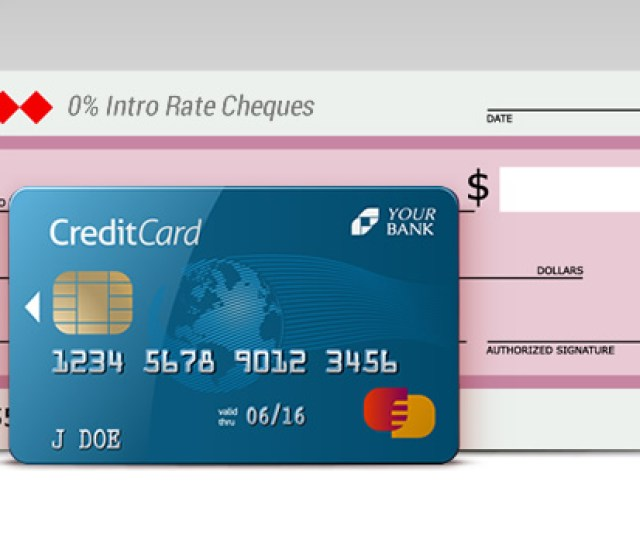 Credit Card Cheques Low Rate Apr