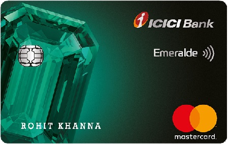 ICICI Bank Emeralde Credit card