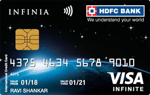 HDFC Infinia Best Super Premium Credit Card