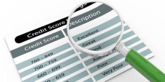 New Credit Score Matrix