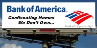 Bank of America, Foreclosures