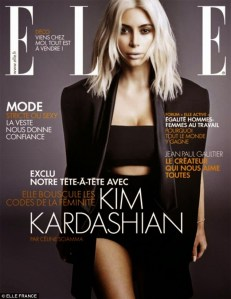 OMG!! Kim Kardashian wows for Elle Magazine France