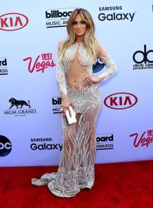 J Lo Gets Raunchy by Showing Belly at the Billboard Music Awards