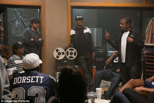 The Rappers Biopic Movie Straight Outta Compton hits $115.5 million in US