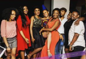 More Photos of Nollywood Stars at 2016 Amstel Malta AMVCA after Party