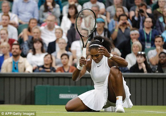 Serena Williams Sweeps aside Annika Beck, 6-3,6-0 to advance to the quarter finals of Wimbledon 2016