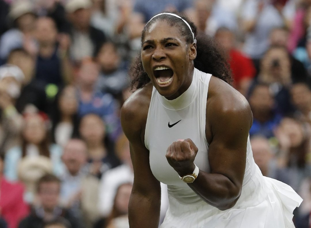 Serena Williams Brilliantly Late downs Christina Mchale 6-7,6-2,6-4 to advance to Wimbledon 2016 3 Round