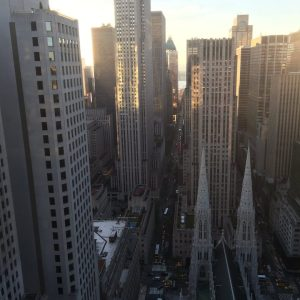 Serena Williams Shares Photo of New York Sunset from The View of her Room at the New York Palace