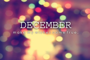 Happy New Month to Y'all, Welcome to December