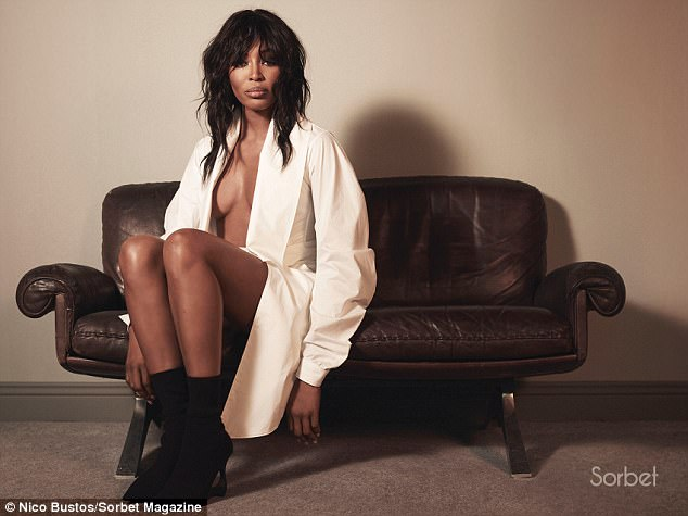 Naomi Campbell Stuns In New Photoshoot for Sorbet Magazine
