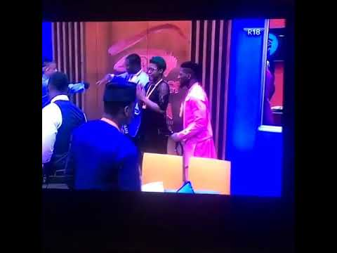 #BBNaija Princess and Britto evicted from the 2018 Big Brother House (video)