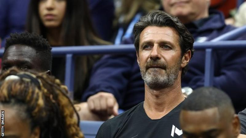 Mouratoglou has coached Serena Williams since June 2012