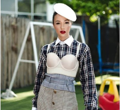 Eku Edewor channels old school Hollywood vibes
