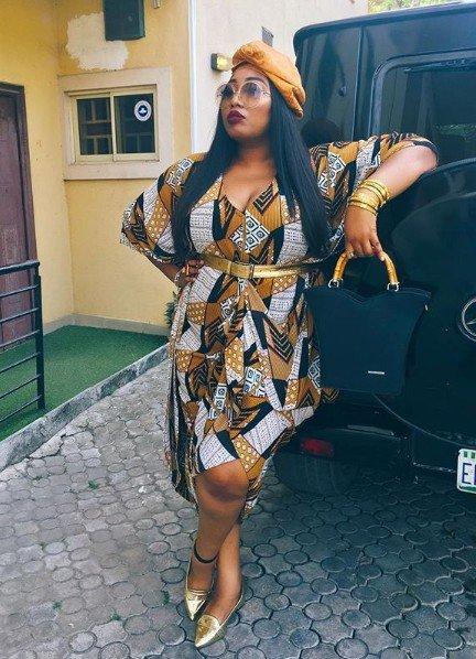 Latasha Ngwube's Look To Simi And Adekunle Gold's Traditional Wedding