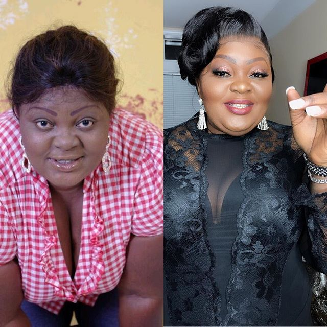 #10yearschallenge: Eniola Badmus Shares Cleavage Baring 10 Years Throwback Photo