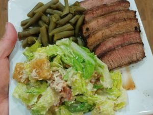 Pan Seared Steak Meal
