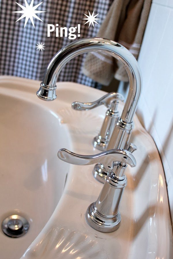 keep your faucets shiny with this