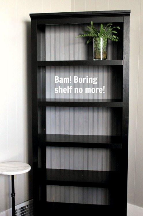bead board shelf backing