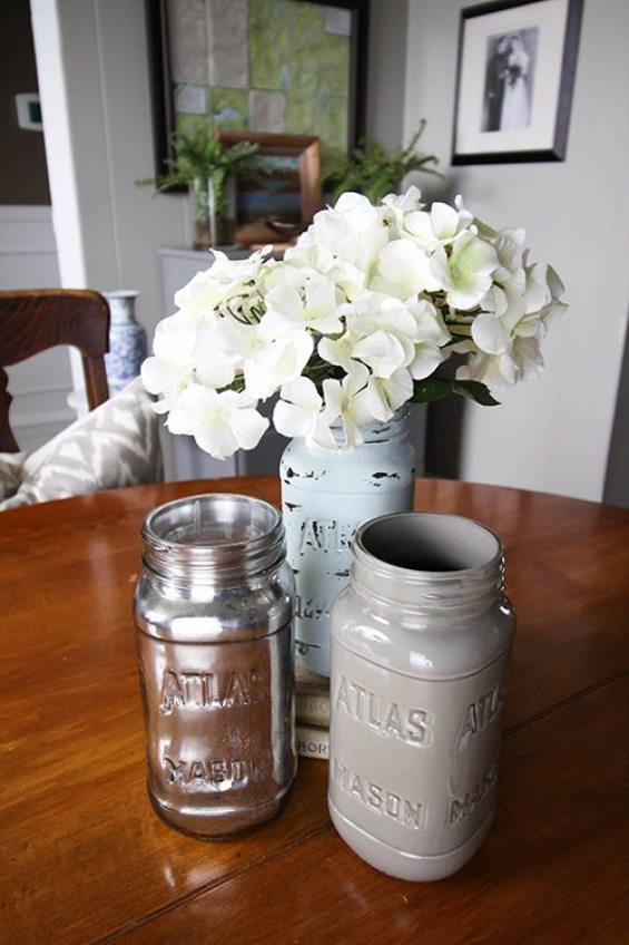 How To Paint Mason Jars: 31 Gorgeous Ideas You Need To Try