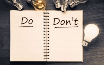 Filing bankruptcy? Start on the right foot with these 10 Do's and Don'ts!