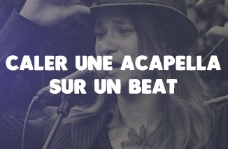 une methode simple pour re caler une acapella sur un beat