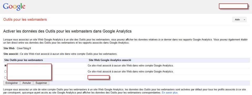 GA - activer les donnees des outils pour les webmasters