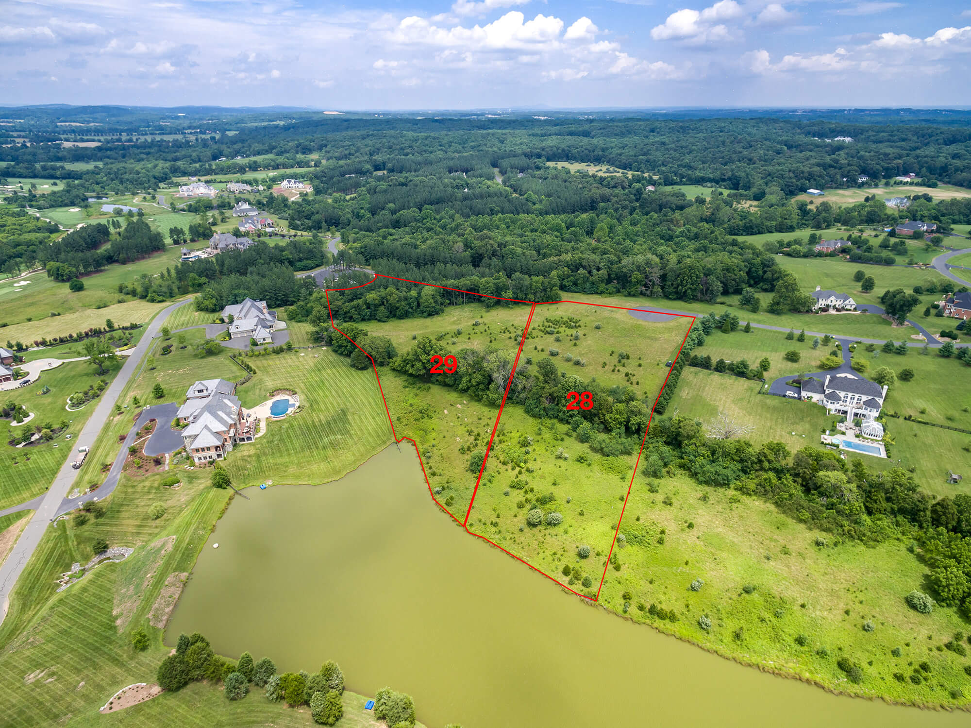 Lot 29 Leesburg Va Creighton Farms Jack Nicklaus