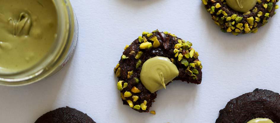 ricetta biscotti cuore pistacchio 8