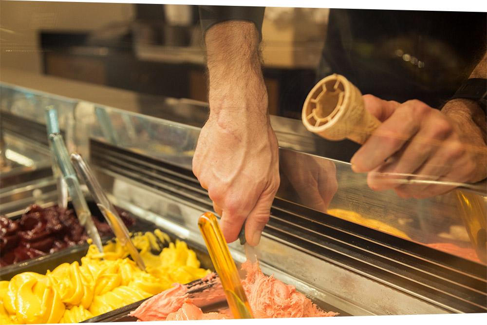 gelato artigianale Cremeria d'Azeglio
