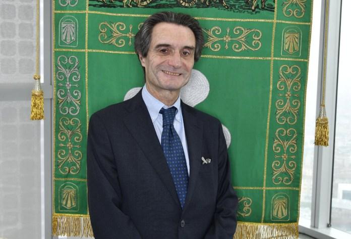 Il presidente della Regione Attilio Fontana