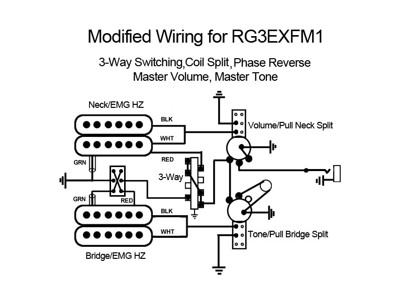 Emg Hz Pickups Wiring Diagram. Emg. Wiring Diagram Schematics