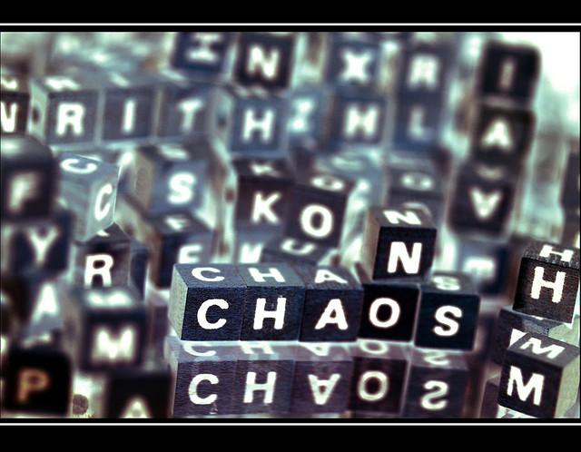 NO CHAOS by alles-schlumpf