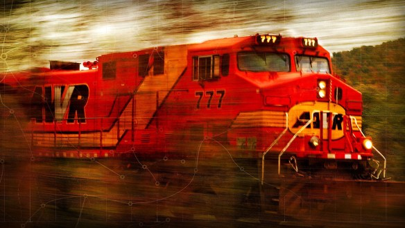 Chaos is like a Runaway Train. If you don't get off, you're doomed!