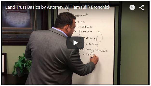 [VIDEO] Land Trust Basics for Real Estate Investors