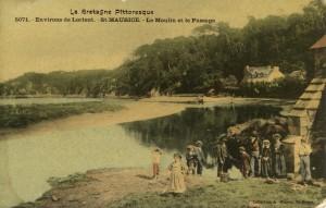 Vue du Moulin à marée