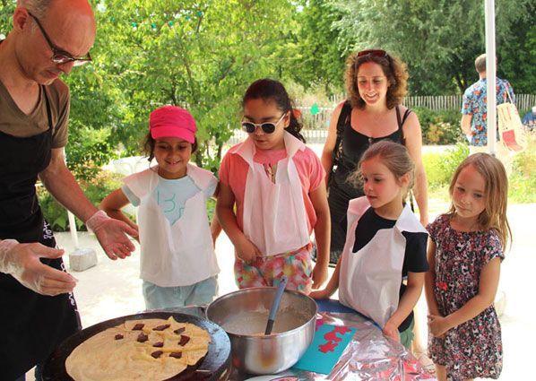 Cours de crêpes pour enfants