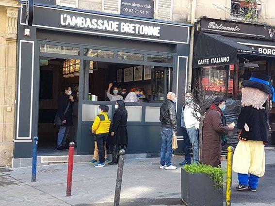 Crêperie l'Ambassade Bretonne à Paris