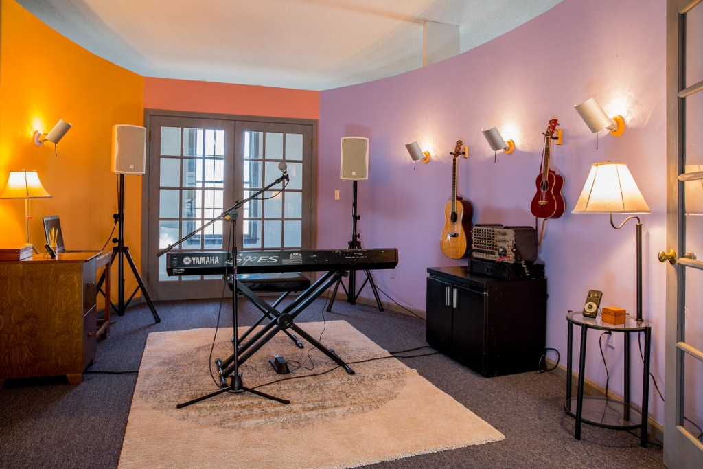 Lesson Room at Crescendo Music Loft