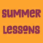 Take piano and voice lessons this summer